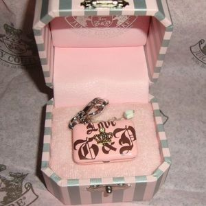 NWT✨ Juicy Couture Laptop Computer Locket Charm